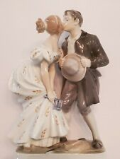 The Princess and the Swineherd, Overglaze, Royal Copenhagen figurine No. 1114