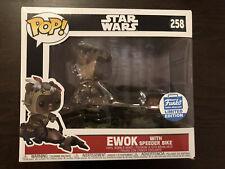 Funko Pop! Ride - Ewok With Speeder Bike - Star Wars Limited Edition Exclusive