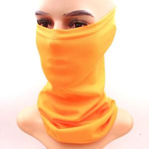 Multi-Use Face Mask Elastic Tube Bandana Pretty Cover Scarf Neck Wrap Gaiter Cap