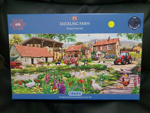 Gibsons G4048 Duckling Farm by Richard Macnell 636 pce jigsaw puzzle