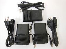 Lot of 3 Genuine Dell latitude Slim AC adapter e7240 e7440 XT3 14R 14Z XPS14 15R