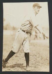 1910 Dick Talbot Cleveland Indians Vintage Baseball Photo