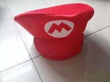 Super Mario Bros Anime Hat Cap Cosplay Party Fancy Dress KIDS UK
