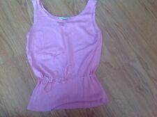 ladies pink top size 12