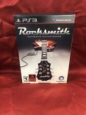 Rocksmith (Sony PlayStation 3 PS3) w/ REAL TONE CABLE BRAND NEW L⭕️⭕️K 🔥🔥🔥🔥