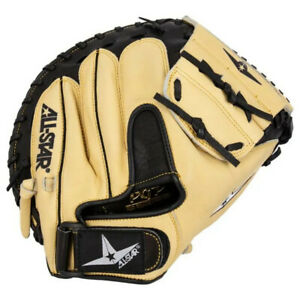 "All-Star 33.5"" Pro Advanced Travel Ball Baseball Catcher's Mitt CM3200SBT NEW"