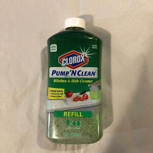 Clorox Pump 'N Clean Refill Kitchen Dish Cleaner Crisp Citrus 24 oz Discontinued