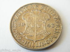 SOUTH AFRICA TWO SHILLINGS 1943