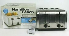 Hamilton Beach 4 Extra Wide Slot Toaster 24910 Stainless Steel Adjustable Brown