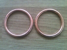 EXHAUST GASKETS KAWASAKI GPZ500S EX500 Set of 2 Copper Gaskets