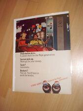 Vintage Pepsi Generation 1960s Machine Advertisement Ad FREE SHIPPING