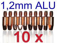 Stromdüse Alu 1,2mm E-Cu MB 25 MB 26 SB 25 SB 26 Kontaktrohr M6 Aluminium MIG
