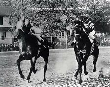 1938 PIMLICO SPECIAL SEABISCUIT BEATS WAR ADMIRAL PHOTO