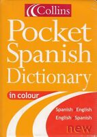 COLLINS POCKET SPANISH DICTIONARY IN COLOR - Spanish/English - English/Spanish