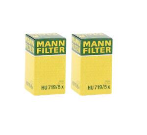 Mann Oil Filter 2Pack fits Porsche BOXSTER 986 2.5 2.7 S 3.2