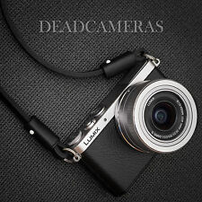 Slim Leather Shoulder/Neck Strap for Leica X, Q, D-Lux, Panasonic GM1, Sony RX1