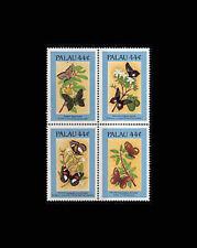 PALAU, Sc #121f, MNH, 1987, Butterflies, Flowers, Plants, SIDAS7Z