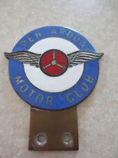 Vintage RAF Per Ardua Motor Club car badge for Austin Morris MG Jaguar Rover