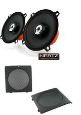 Hertz Diece DCX130.3 13cm front door speaker upgrade and grilles for Golf Mk2