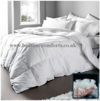 """4' 6"""" DOUBLE DUCK FEATHER & DOWN DUVET QUILT 10.5 or 13.5 TOG"""