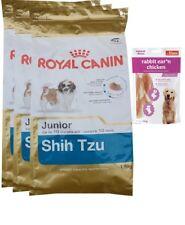 3x1,5kg  Royal Canin  Shih-Tzu Junior + 80g Fleischsnacks