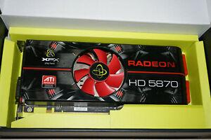 XFX AMD ATI Radeon HD 5870 1GB GDDR5 GPU Graphics Card
