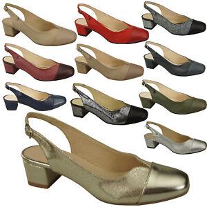 Schuhe Damen Sandalen Naturleder 165 ElitaBut