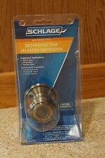 New Schlage Handle Non Turning Georgian Antique Brass Decorative Knob
