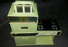 Vintage 1969 Kenners Original Easy Bake Oven Works 3 Pans Box Cookbook