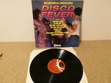 DISCO FEVER Various Artists LP VINYL UK K-Tel 1977 20 Track Including Baccara