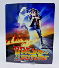 BACK TO THE FUTURE 1 - Glossy Bluray Steelbook Magnet Cover (NOT LENTICULAR)