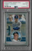 2018 Topps Transcendent Collection Tommy Lasorda #29 PSA 10 GEM MINT POP 1 Icons