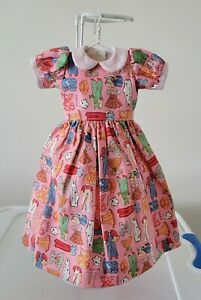 """Paper Doll Dress Made for 18"""" Kaye Wiggs MSD BJD"""