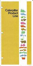 Equipment Brochure - Caterpillar - Product Line Overview - Spec Sheets (E3253)