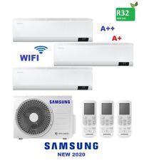CONDIZIONATORE SAMSUNG CEBU TRIAL SPLIT 7+9+9 BTU INVERTER R32 AJ052 A++/A+