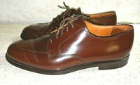 COLE HAAN Calhoun Split Toe Oxford Mahogany Leather Men's Size 11 D MSRP $189