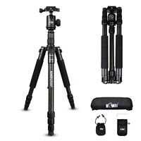 KIWI Portable Pro Tripod Monopod & Ball Head Compact Travel for DSLR SLR Camera