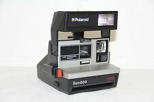 Vintage Polaroid Sun 600 Lms Instant Film Camera - Tested &Working! Excellent!