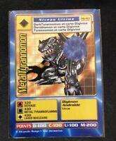 Carte Digimon MetalTyrannomon Mp-103 Française Near-Mint