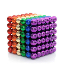 216PCS 5mm Magic Magnets Ball Neodymium Sphere 3D Puzzle Cube Stress Relief