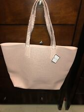Large Pink Tote Bag From Macys Shoulder Bag, New With Tags