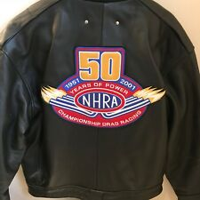 NHRA 50th Anniversary Leather Jacket