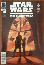 Star Wars: The Clone Wars (2008) #1 - Signed Comic Book - 1st Ahsoka ! - RARE