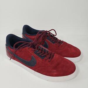 Nike SB Men's 472627 Zoom Leshot LR  Shoes Sz 10 Red Blue EUC 🔥