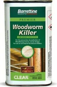Brand New Woodworm Killer Fast and Effective Treatment for Wood-Worm 250ml UK