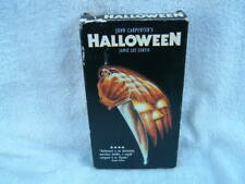 Halloween (VHS) John Carpenter Jamie Lee Curtis Classic Horror