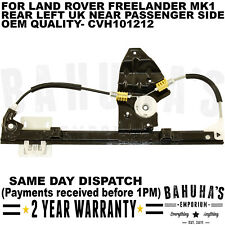 ELECTRIC WINDOW REGULATOR FOR LAND ROVER FREELANDER MK1 REAR LEFT SIDE CVH101212