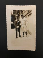 Babe Ruth Original c1934 Type 1 Photograph. Game Snapshot Photo New York Yankees