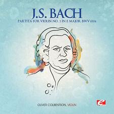 Oliver Colbentson, Herbert Waltl, J.S. Bach - Partita for Violin 3 [New CD] Manu