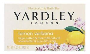 4 X YARDLEY LEMON VERBENA SOAP BAR - 120G